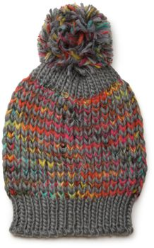 styleBREAKER scarf and hat combo set, colorful chunky knit tube scarf and knitting beanie, unisex 01018201 – Bild 18