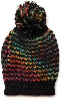 styleBREAKER scarf and hat combo set, colorful chunky knit tube scarf and knitting beanie, unisex 01018201 – Bild 21