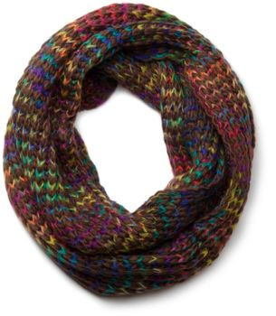 styleBREAKER scarf and hat combo set, colorful chunky knit tube scarf and knitting beanie, unisex 01018201 – Bild 2