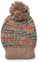 styleBREAKER scarf and hat combo set, colorful chunky knit tube scarf and knitting beanie, unisex 01018201 – Bild 9