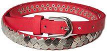 styleBREAKER square studded belt in vintage style, shortened 03010014 – Bild 2