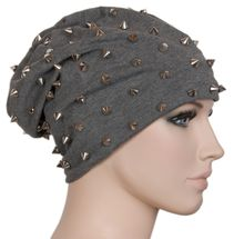 styleBREAKER classic beanie slouch hat with rivets and lining 04024011 – Bild 4
