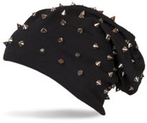 styleBREAKER classic beanie slouch hat with rivets and lining 04024011 – Bild 5