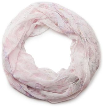 styleBREAKER light, silky flower pattern tube scarf in crushed look 01016040 – Bild 12