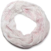 styleBREAKER light, silky flower pattern tube scarf in crushed look 01016040 – Bild 10