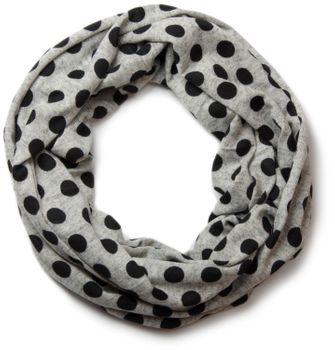 styleBREAKER fine knitting dot pattern loop tube scarf 01012036 – Bild 3
