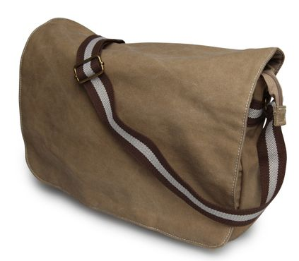 styleBREAKER Vintage Canvas Umhängetasche, Despatch-Bag 02012008