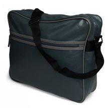 styleBREAKER Vintage Umhängetasche, Messenger Bag in Leder Optik 02012009 – Bild 6