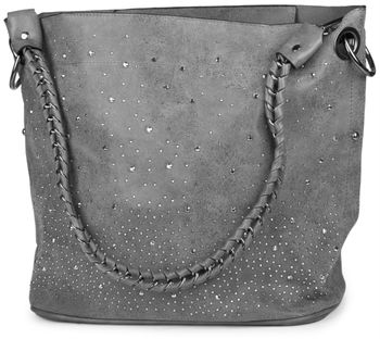 styleBREAKER handbags set with rhinestone transfer in the starry sky design, women 02012013 – Bild 90