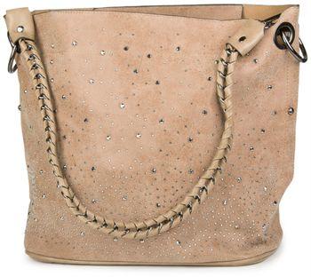 styleBREAKER Handtaschen Set mit Strass Applikation im Sternenhimmel Design, 2 Taschen 02012013 – Bild 61