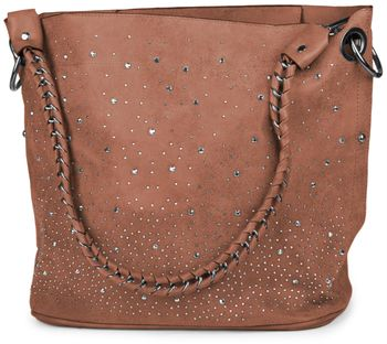 styleBREAKER handbags set with rhinestone transfer in the starry sky design, women 02012013 – Bild 75