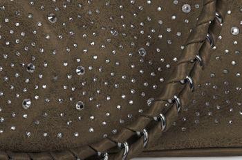 styleBREAKER Handtaschen Set mit Strass Applikation im Sternenhimmel Design, 2 Taschen 02012013 – Bild 76