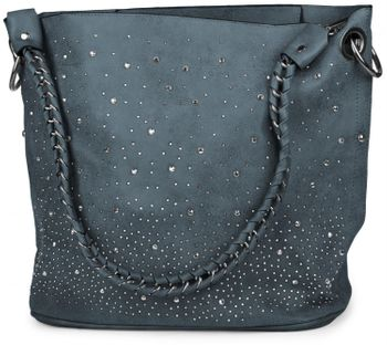styleBREAKER handbags set with rhinestone transfer in the starry sky design, women 02012013 – Bild 94