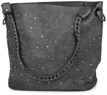 styleBREAKER handbags set with rhinestone transfer in the starry sky design, women 02012013 – Bild 86