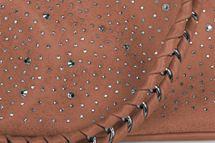styleBREAKER Handtaschen Set mit Strass Applikation im Sternenhimmel Design, 2 Taschen 02012013 – Bild 73