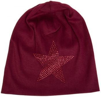 styleBREAKER warm beanie hat with star rhinestone application, unisex 04024023 – Bild 42