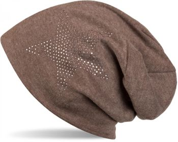 styleBREAKER warm beanie hat with star rhinestone application, unisex 04024023 – Bild 23