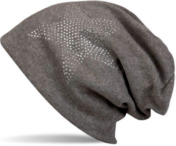 styleBREAKER warm beanie hat with star rhinestone application, unisex 04024023 – Bild 51