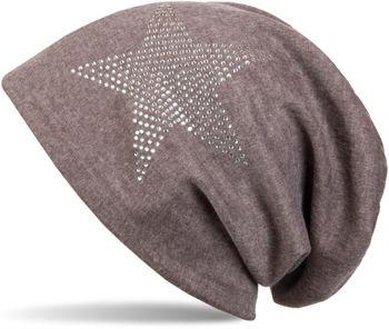 styleBREAKER klassische Unisex Beanie Mütze mit Stern Strass Applikation, warm 04024023 – Bild 29