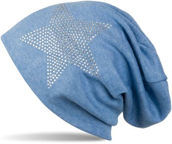 styleBREAKER warm beanie hat with star rhinestone application, unisex 04024023 – Bild 28