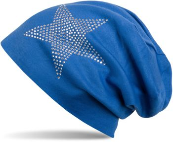 styleBREAKER warm beanie hat with star rhinestone application, unisex 04024023 – Bild 16
