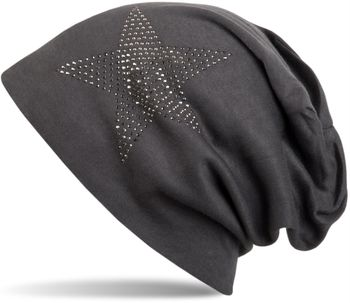 styleBREAKER warm beanie hat with star rhinestone application, unisex 04024023 – Bild 17