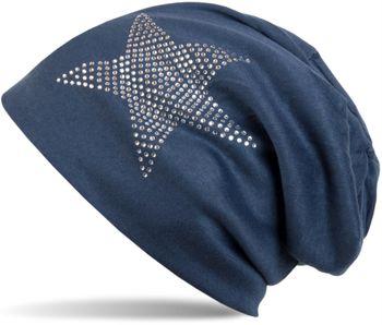 styleBREAKER warm beanie hat with star rhinestone application, unisex 04024023 – Bild 22