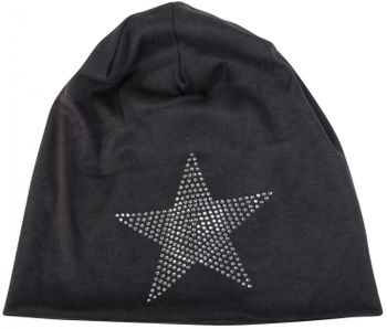 styleBREAKER warm beanie hat with star rhinestone application, unisex 04024023 – Bild 38