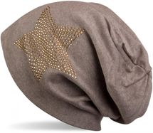 styleBREAKER warm beanie hat with star rhinestone application, unisex 04024023 – Bild 44