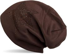 styleBREAKER warm beanie hat with star rhinestone application, unisex 04024023 – Bild 45