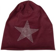 styleBREAKER warm beanie hat with star rhinestone application, unisex 04024023 – Bild 34