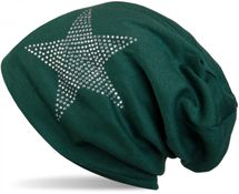 styleBREAKER warm beanie hat with star rhinestone application, unisex 04024023 – Bild 31