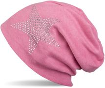 styleBREAKER warm beanie hat with star rhinestone application, unisex 04024023 – Bild 35