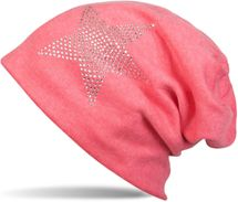 styleBREAKER warm beanie hat with star rhinestone application, unisex 04024023 – Bild 9
