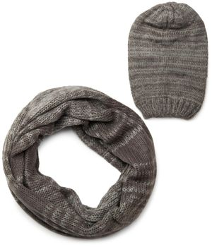 styleBREAKER scarf and hat combo set, colorful chunky knit tube scarf and knitting beanie 01018201 – Bild 19