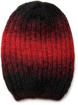 styleBREAKER scarf and hat combo set, colorful chunky knit tube scarf and knitting beanie 01018201 – Bild 9