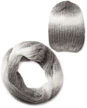 styleBREAKER scarf and hat combo set, colorful chunky knit tube scarf and knitting beanie 01018201 – Bild 16
