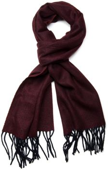 styleBREAKER classic scarf with sophisticated herringbone pattern and fringing, unisex 01018073 – Bild 7
