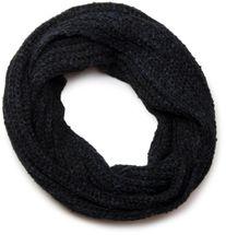 styleBREAKER Schal und Mütze Kombi Set, marmorierter Grobstrick Loop Schlauchschal mit Strick Beanie Mütze 01018206 – Bild 8