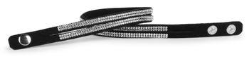 styleBREAKER weiches Strass Armband, eleganter Armschmuck mit Strassteinen, Wickelarmband, 2x2-Reihig, Damen 05040004 – Bild 36