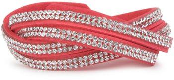 styleBREAKER weiches Strass Armband, eleganter Armschmuck mit Strassteinen, Wickelarmband, 2x2-Reihig, Damen 05040004 – Bild 30
