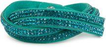 styleBREAKER weiches Strass Armband, eleganter Armschmuck mit Strassteinen, Wickelarmband, 2x2-Reihig, Damen 05040004 – Bild 4