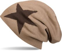 styleBREAKER warm and classic knit beanie hat with star and very soft lining, unisex 04024026 – Bild 5