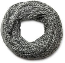 styleBREAKER zweifarbiger Grobstrick Loop Schlauchschal, Strickschal, weiche Qualität, Unisex 01018130 – Bild 4