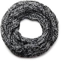 styleBREAKER zweifarbiger Grobstrick Loop Schlauchschal, Strickschal, weiche Qualität, Unisex 01018130 – Bild 10