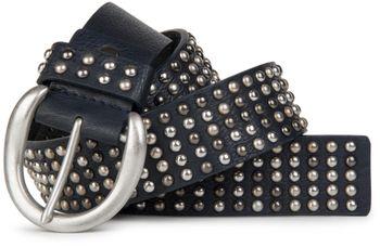 styleBREAKER Nieten Gürtel im Vintage Style  und mehrfarbigen Kugelnieten, kürzbar 03010048 – Bild 10