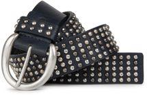 styleBREAKER Nieten Gürtel im Vintage Style  und mehrfarbigen Kugelnieten, kürzbar 03010048 – Bild 2