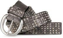 styleBREAKER Nieten Gürtel im Vintage Style  und mehrfarbigen Kugelnieten, kürzbar 03010048 – Bild 7