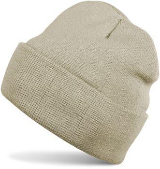 styleBREAKER klassische Beanie Strickmütze, warme Feinstrick Mütze doppelt gestrickt, Unisex 04024029 – Bild 2