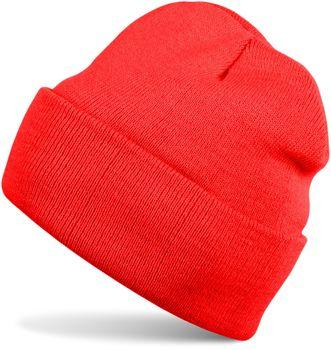 styleBREAKER Unisex warme Beanie Strickmütze, Feinstrick Mütze doppelt gestrickt, Winter 04024029 – Bild 8